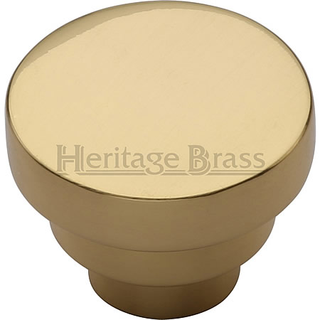 Accessories - Round Stepped Cabinet Knob