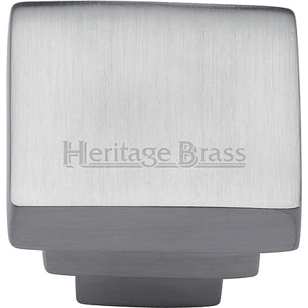 Accessories - Square Stepped Cabinet Knob