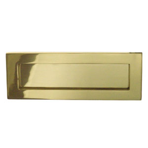 Polished Brass Sprung Letterplate