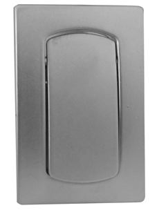 Aluminium Flush Fitting Cupboard Pull
