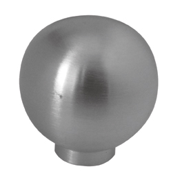 Ball Shaped Cabinet Knob (No Rose)