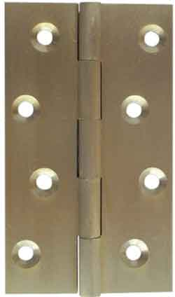 Hinges - Double Phosphor Polished Chrome Washered Hinge