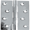 Hinges - Polished Chrome Solid Drawn Hinge