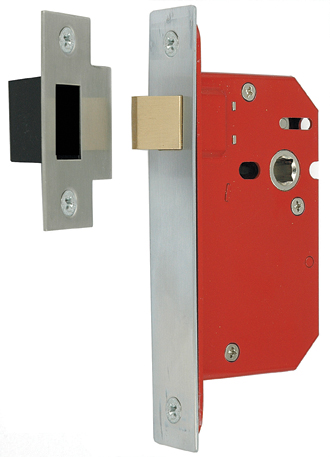 Mortice Latch Fullcase Double Sprung Architectural