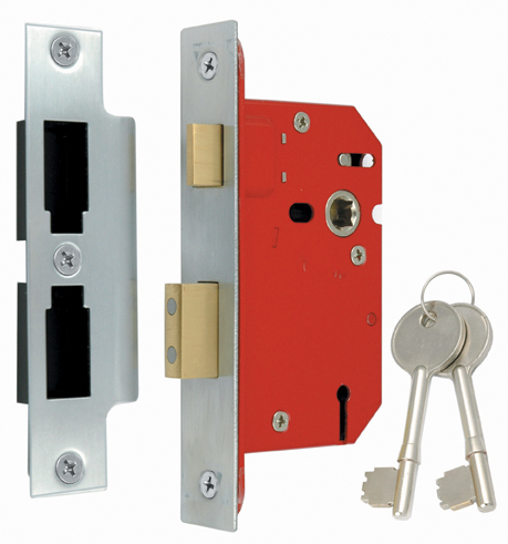Locks_and_latches - 3 Lever Mortice Sash Lock Architectural